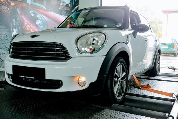 MINI COUNTRYMAN 1.6D 108KM 2013r.